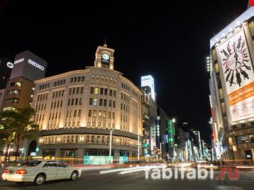 Токио, район Гиндза