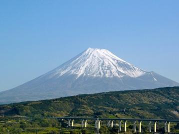 Япония, гора Фудзи