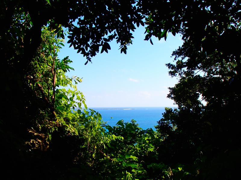 Вид на остров Кудака — остров богов