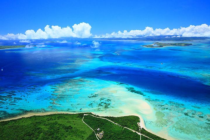 Пляжи Окинавы, лето