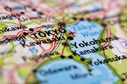 Карта Токио и соседних префектур