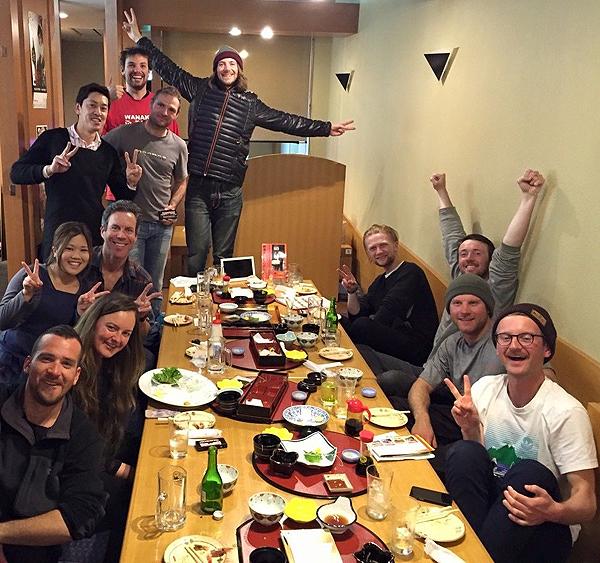 Сытые и довольные туристы: отдых на японских горнолыжных курортах
