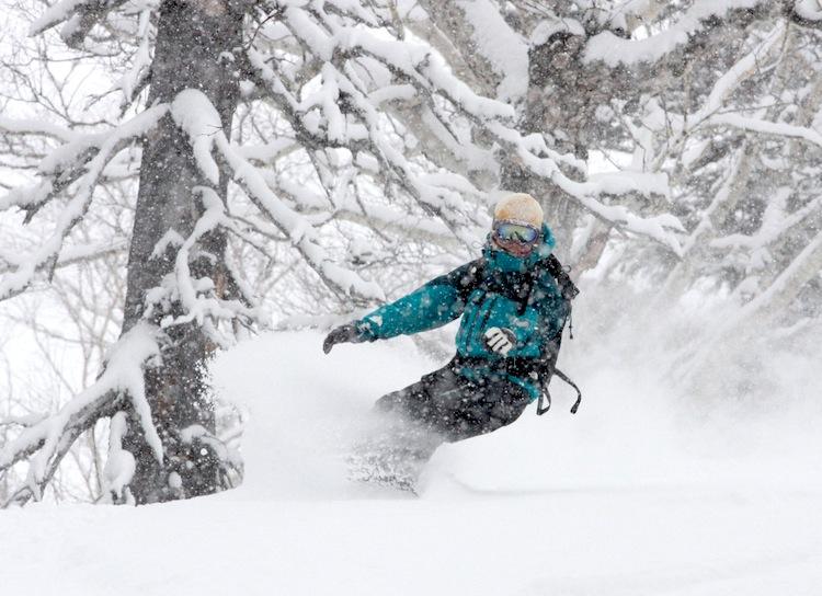 Японский снег известен во всё мире своим качеством