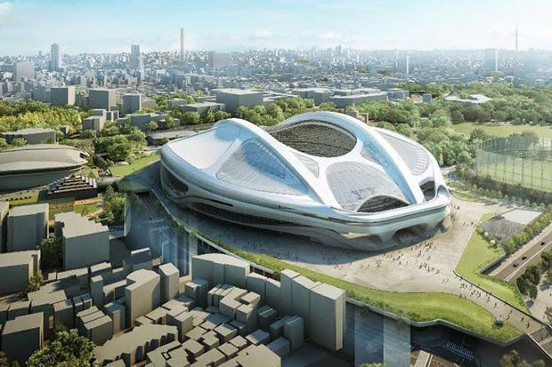 Дизайн нового Национального стадиона, архитектор архитектор Заха Хадид