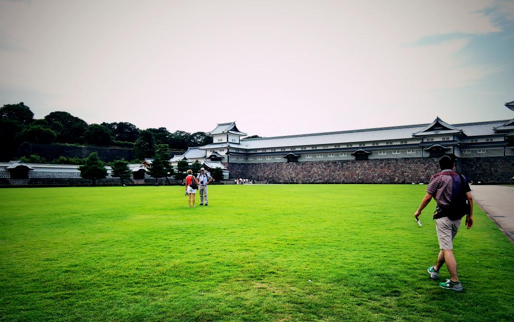 Парк замка Канадзава