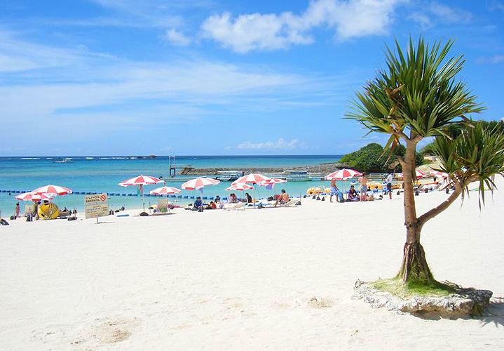 Пляж Дзампа, Окинава
