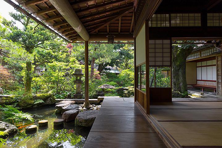 Сад в самурайской резиденции Номура