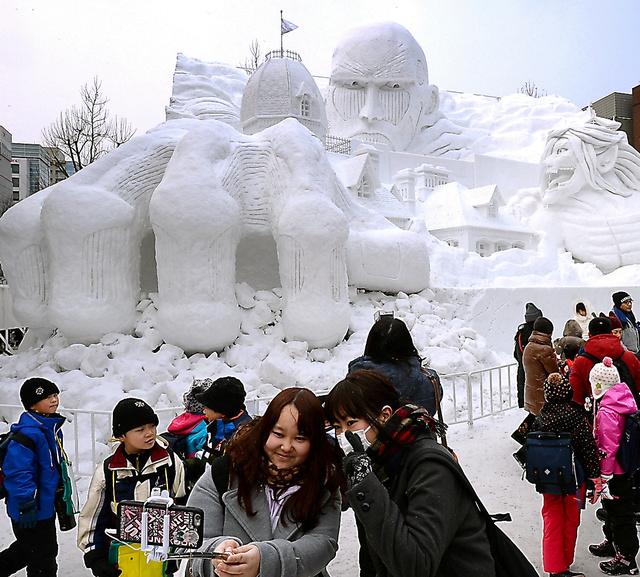 Юкимацури — снежный фестиваль в Саппоро