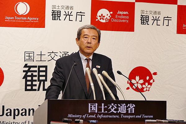 Руководитель японского Агентства по туризму, Акихико Тамура