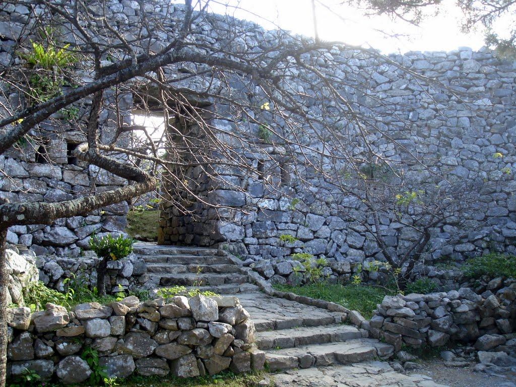 Главные ворот Хэйродзё, замок Накидзин