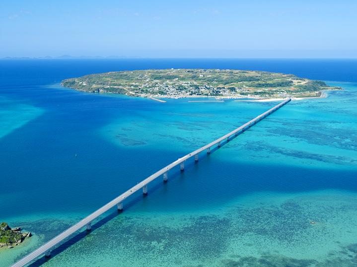Остров Коури, Окинава