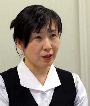Мики Фукутоку, руководитель отдела по работе с общественностью храма Мэйдзи