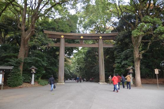 Харадзюку-гути — вход в храм Мэйдзи