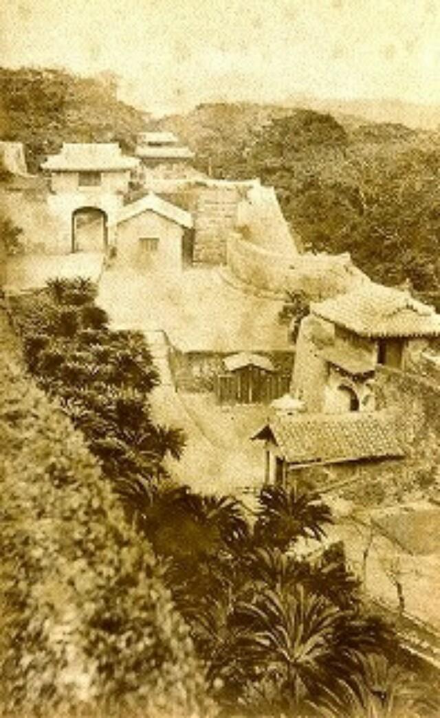 Редкая фотография замка Сюри