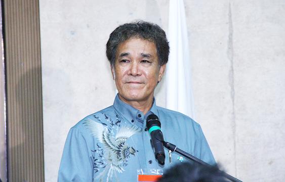 Кураёси Такара, почетный профессор университета Рюкю