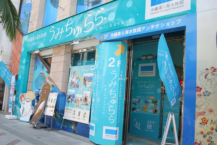 Тематический магазин Тюрауми на улице Кокусай-дори