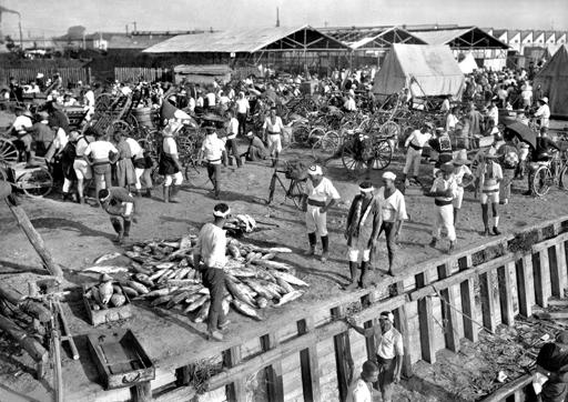 Стихийный рынок Цукидзи после 1923 года