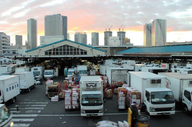 Утро на рынке Цукидзи