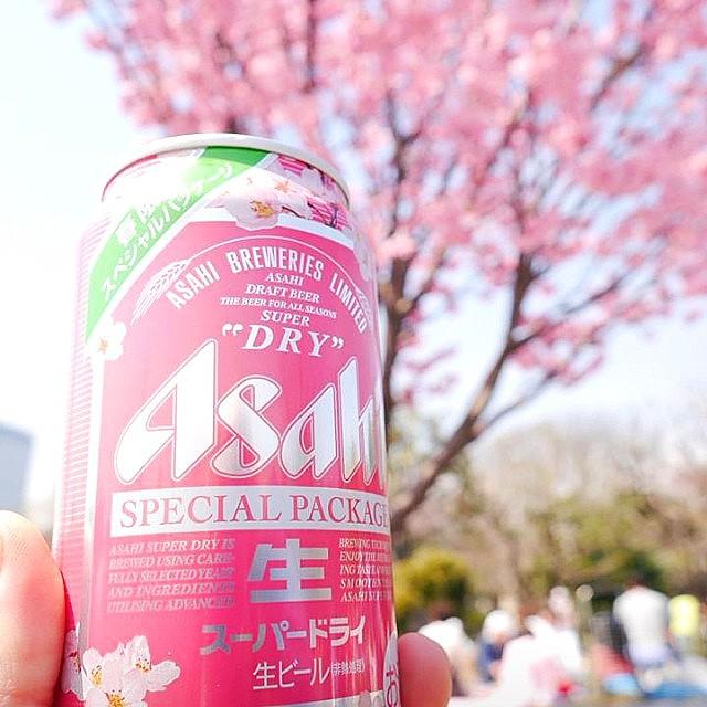 Пиво и сакура