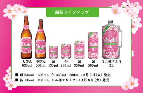 Виды продукции к сезону цветения сакуры