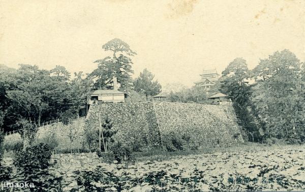 Фото замка Мацуэ, сделанное в начале ХХ века