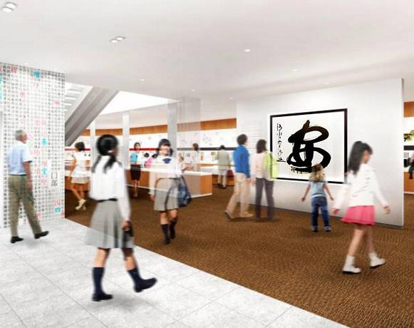 Музей Кандзи в Киото, проект