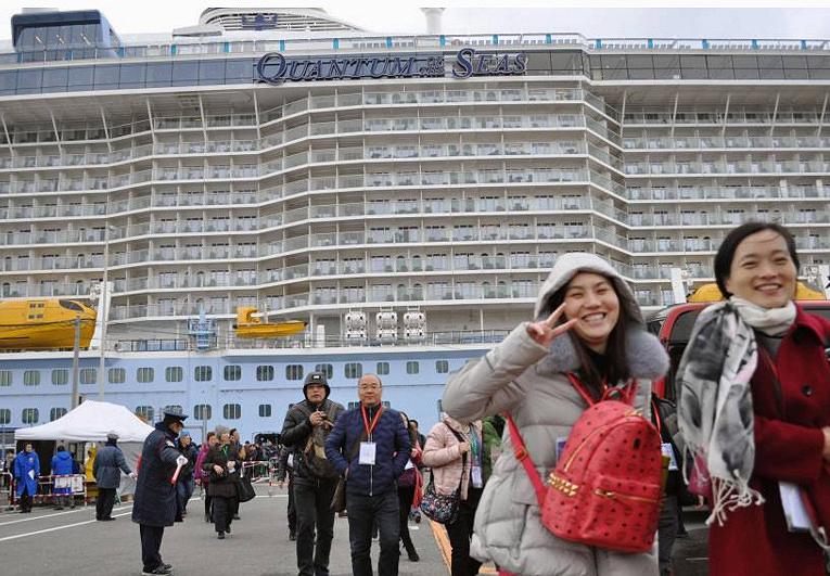 В Японию на круизном лайнере
