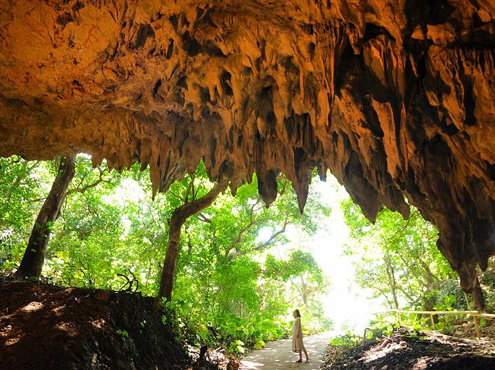 Пещера долины Гангара, Окинава