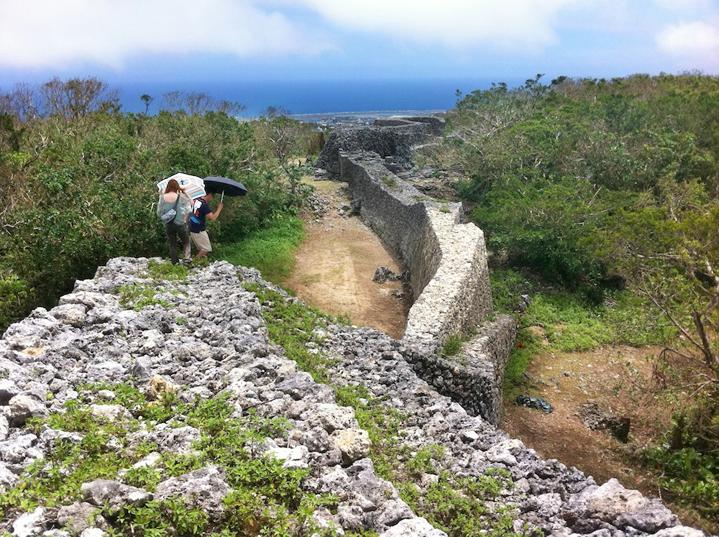 Окинава, руины замка Итокадзу
