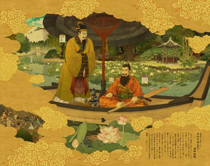 Объединитель королевства Рюка король Сё Хаси