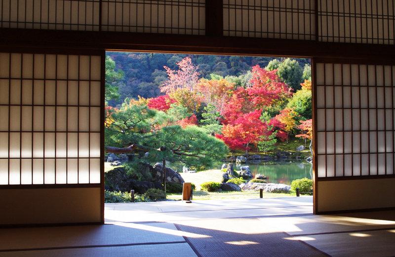 храм Тэнрю-дзи в Киото