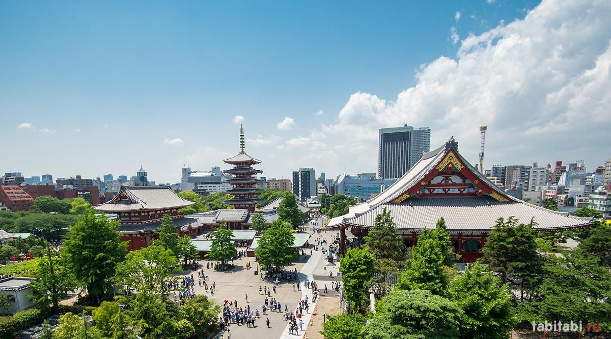 Экскурсия по Токио с русскоговорящим гидом