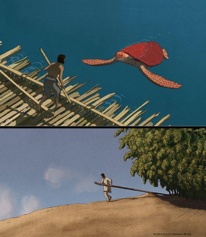«Красная черепаха» европейского режиссера Михаэля Дюдок де Вита