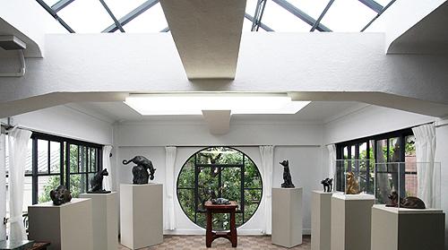 Зал в музее скульптуры Асакура