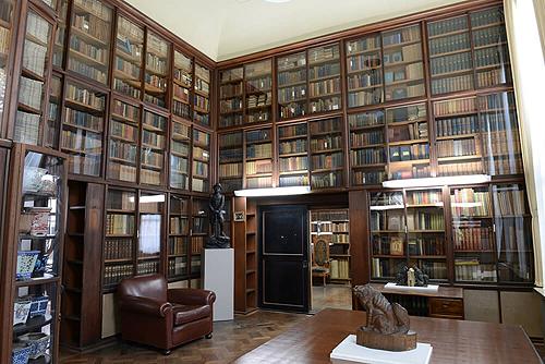 Музей скульптуры Асакура, библиотека