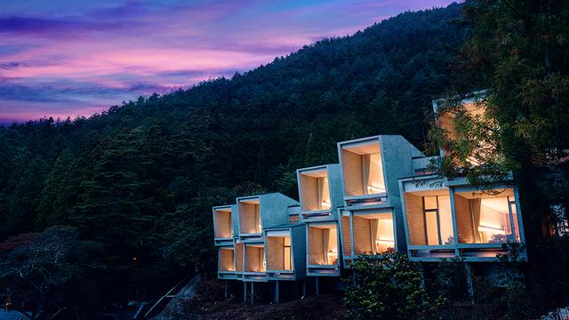 Отель у горы Фудзи