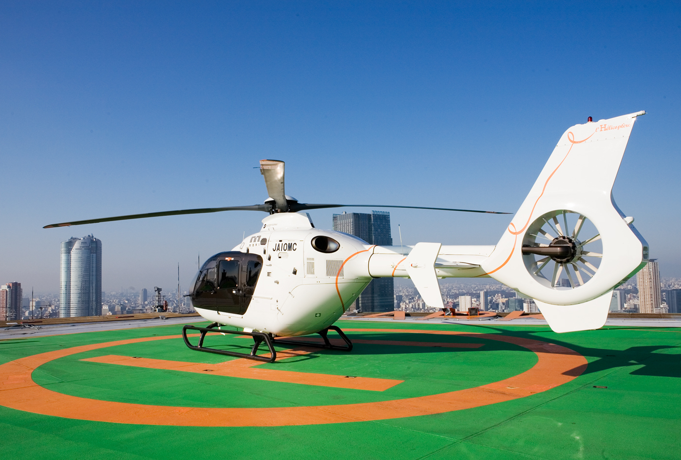 Площадка для вертолётов в Токио