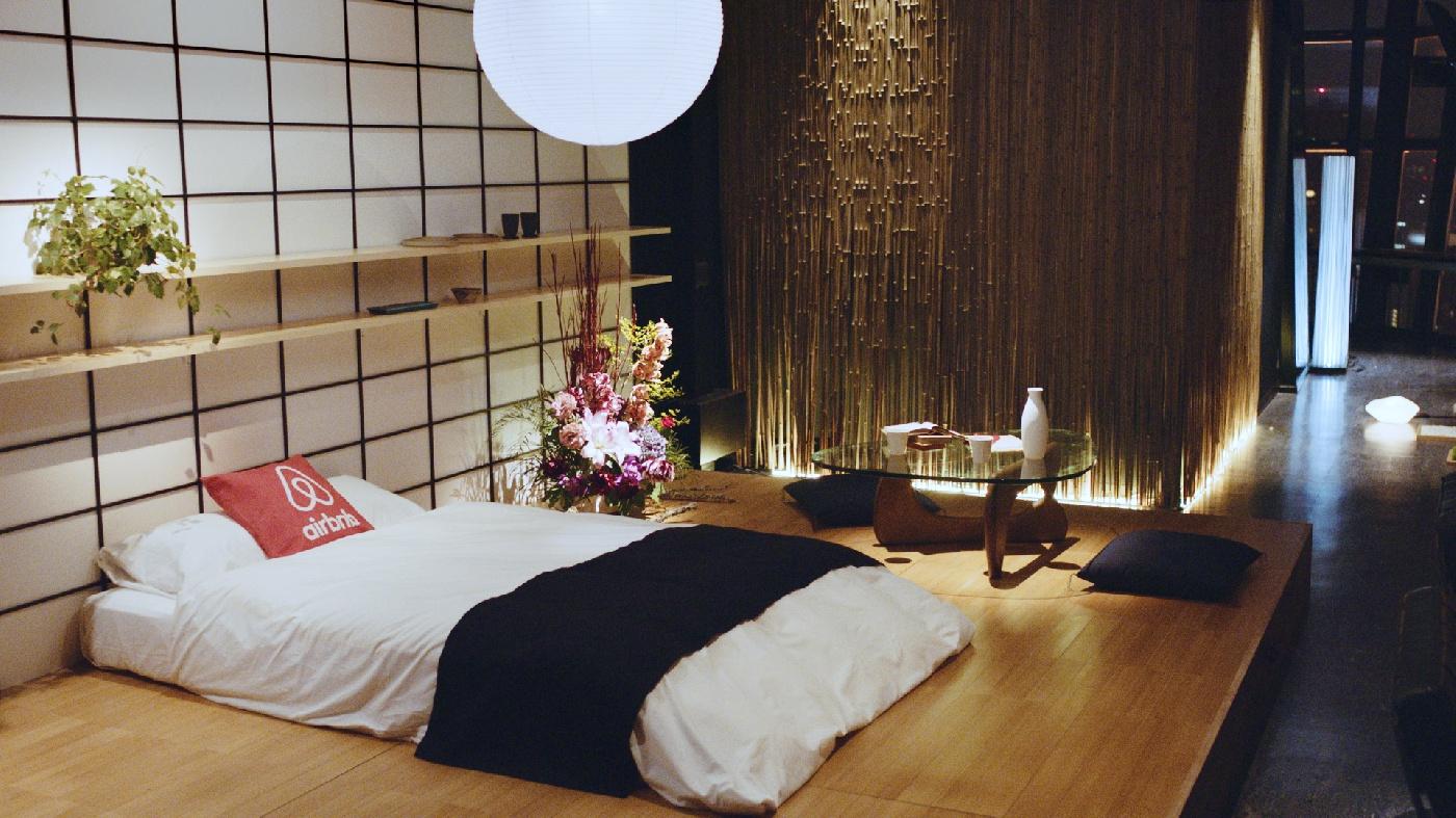 Жильё в Японии, которое можно найти на сайте Airbnb