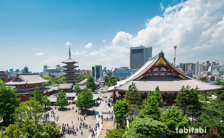 Токио, Асакуса, туризм в Японию