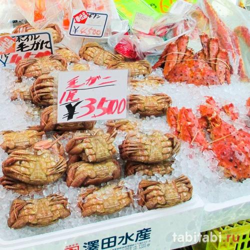 Рыбный рынок в Хакодате Асаити