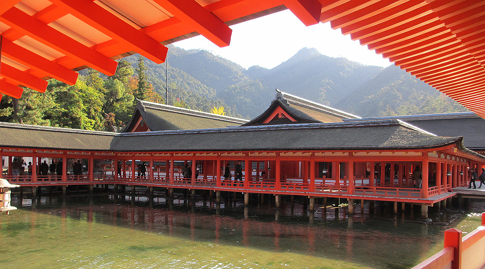 Ицукусима, храм на острове Миядзима
