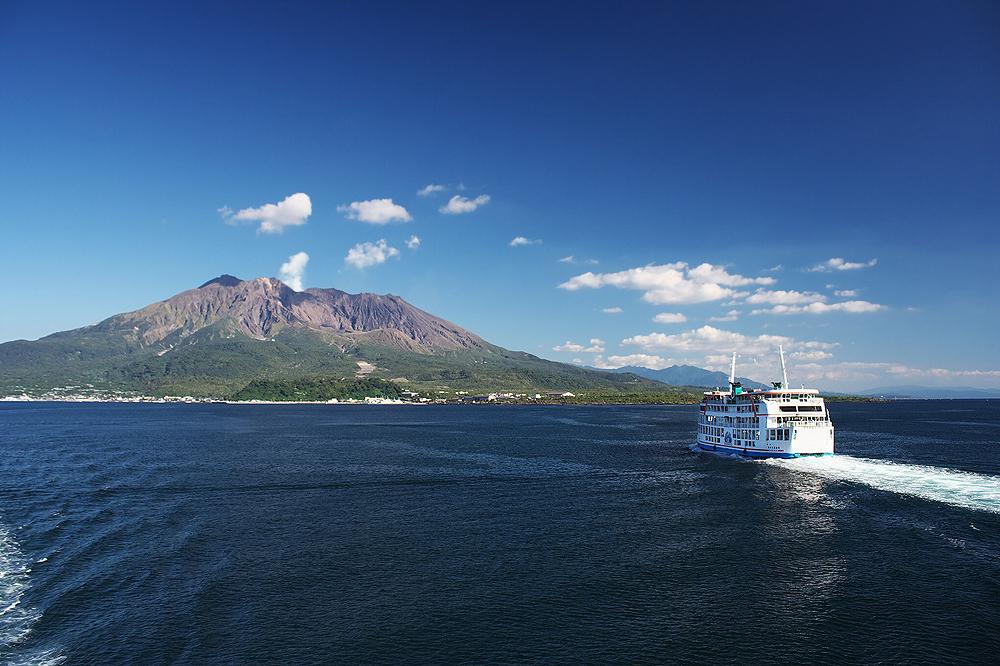 остров Сакурадзима, Кагосима