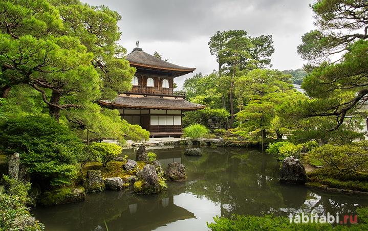 Гинкаку-дзи, Киото