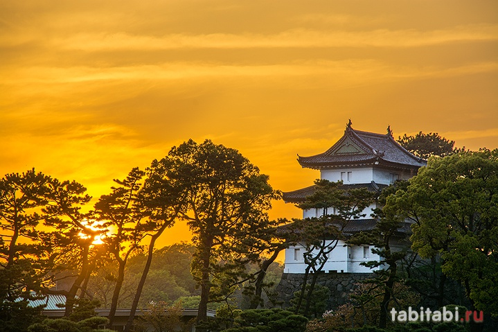 Токийский императорский дворец