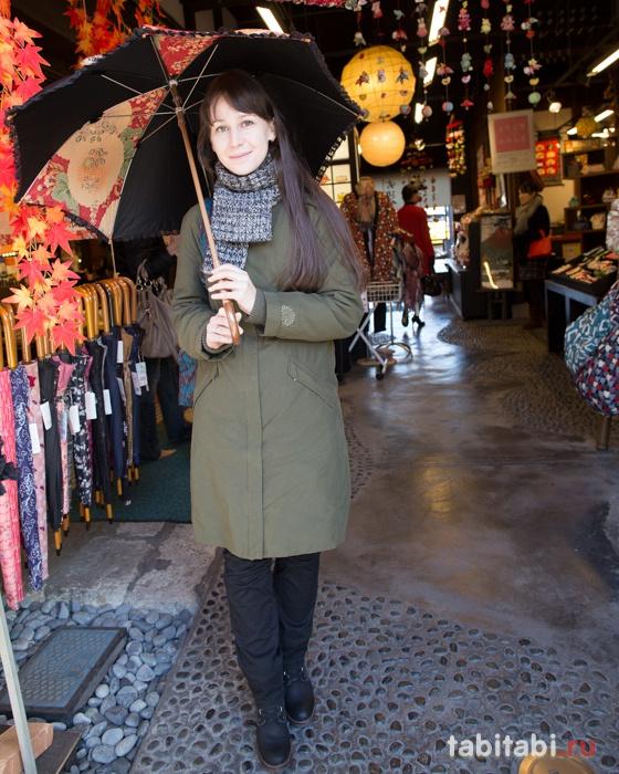 Торговая улочка в Кавагоэ