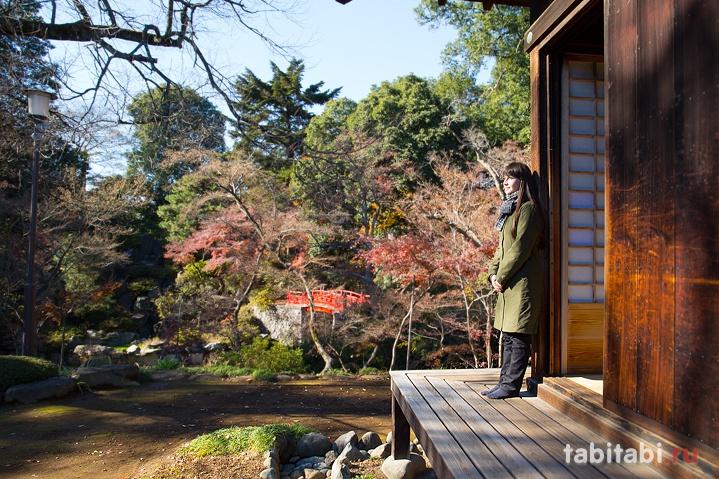 Кавагоэ, сад в храме Кита-ин
