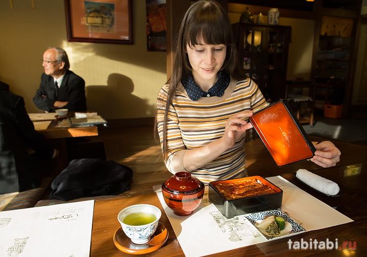 Кавагоэ, ресторан «Итиноя», где подают угрей