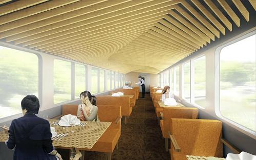 Туристический поезд-ресторан