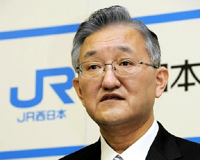 Глава компании JR West Сэйдзи Манабэ