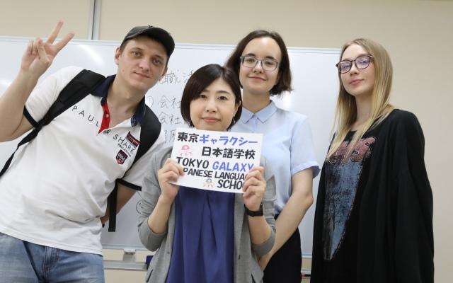 студенты гаку.ру и школа Galaxy